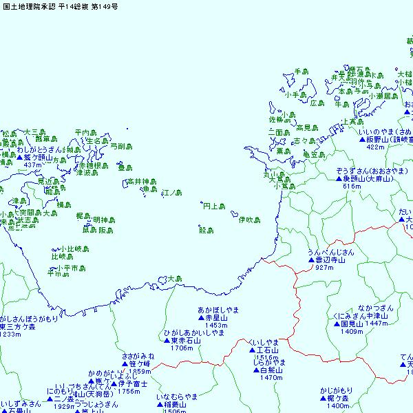 白地図 KenMap (白地図作成ソフ...