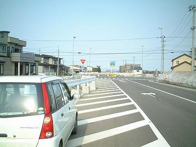 青森一般県道125号 小友板柳停車...