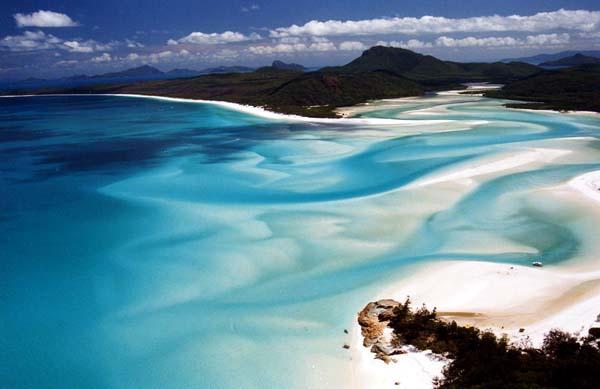 ホワイトヘブン・ビーチ(オーストラリア・ハミルトン島)