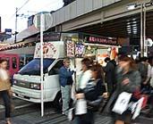 京急川崎駅前に止まっていたドネル・ケバブ屋