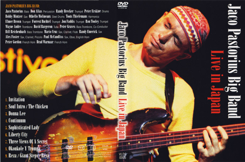 Live in japan jaco pastorius big band stopboris Image collections