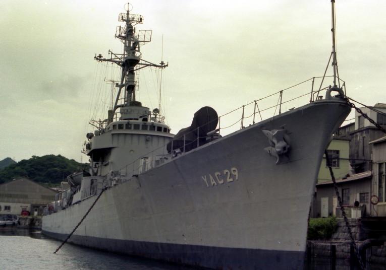 ■画像のカテゴリ:海上自衛隊 保管艦「あけぼの」 ■撮影日時:1980... JMSDF0006